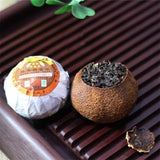 250g Yunnan Puerh Tea Orange Pu'er Tea Puer Cooked Tea Tangerine Peel Packaging