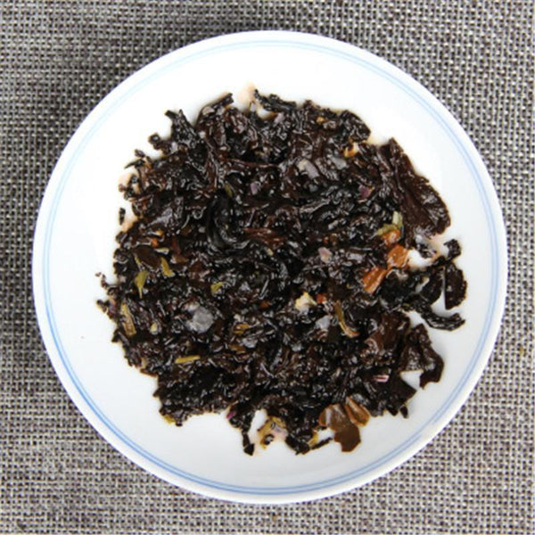 100g Yunnan Rose Puerh Tea Canned Rose Puer Small Tuocha Organic Pu Er Ripe Tea