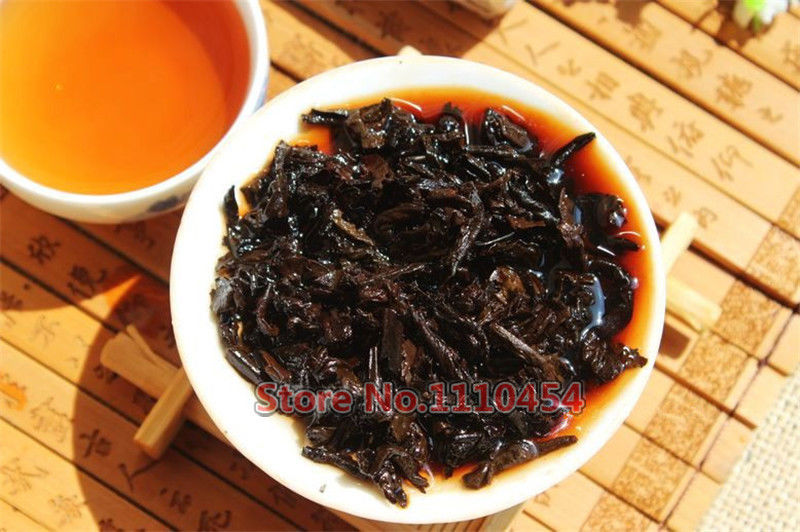 Chinese Old Puer Tea Pu Er Tea Pu-erh Compressed Pu'er Brick Puerh Old Black Tea