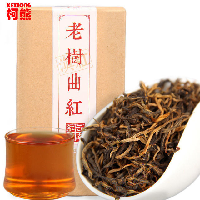 Tea Red Box Dian Hong Golden Black Tea Dianhong Tea Gift Tea Spring Fragrant Flavor