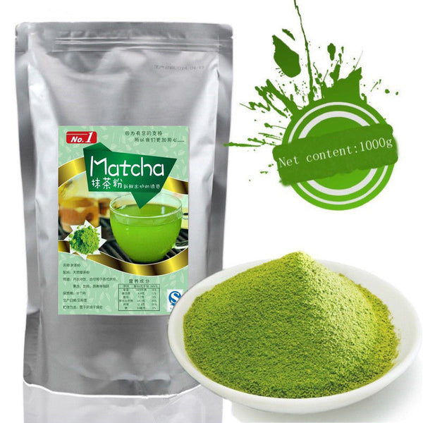 1000g Matcha Tea Green Tea Powder 100% Natural Organic Slimming Tea Health Care Tea