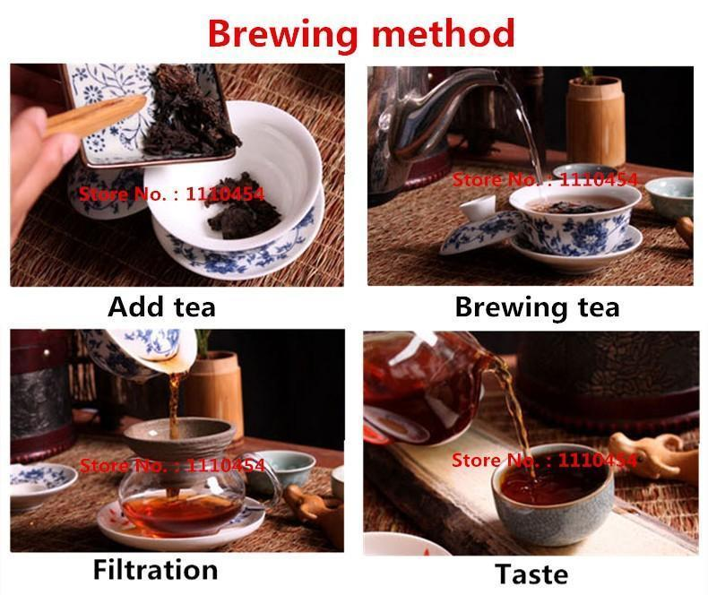 Yunnan Pu-erh tea Pu'er ripe tea Jinmao Gong cake brown tree cooked old tea cake