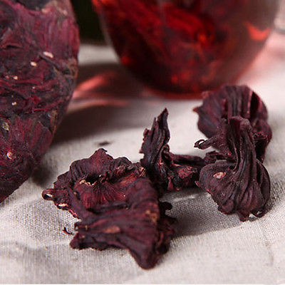 Fashion Organic Green Food flower tea Aroma Taste Slimming Skincare roselle tea