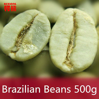 500g Brazil Green Coffee Beans 100% Original High Quality Green Slimming Coffee