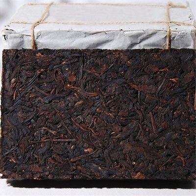 250g cooked Black tea Yunnan aged Pu-erh tea in a special 7581 brick Puerh tea
