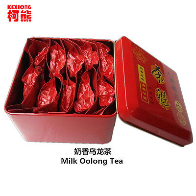 Milk Oolong Tea 10 packs Superior Healthy Green Food Gift Packing Iron can GIFT