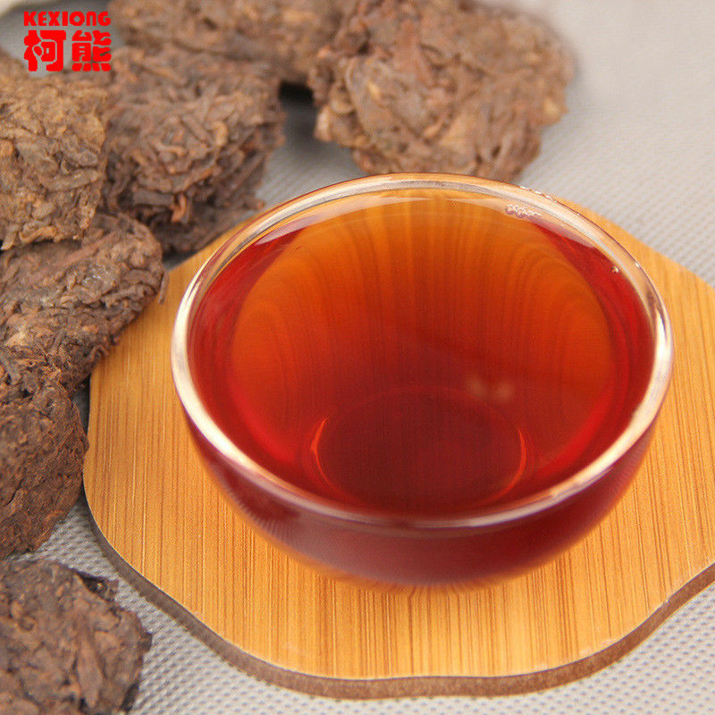 Chinese Pu-erh tea Old Chen tea 200g cooked pure Tuo green food healthy Shu tea