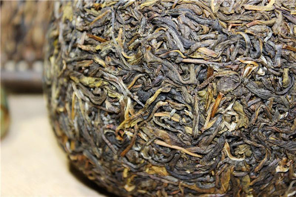 1000g Gold Melon Tribute Tea Raw Puerh Tuo Cha Pu Erh Tea Food Yunnan Pu-erh Tea