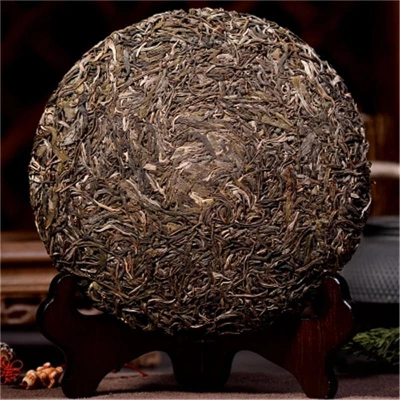 357g HighMountain Wild Rhyme Sheng Pu-erh Tea Raw Tea Ancient Tree Tea Green Tea