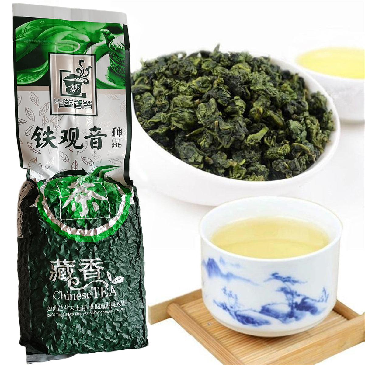 250g Chinese Tikuanyin Green Tea TieGuanYin Tea Natural Organic Health Tea