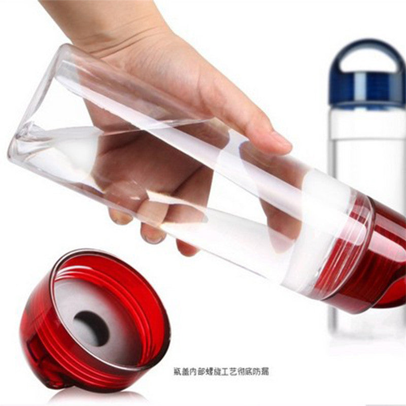 CJ013 Fruit Infuser/Infusing Drinking water bottle Lemon bottle Fruit Juice maker bike/travel bottles BPA Free 700ml Drinkware