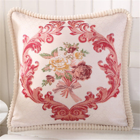 BZ167 Luxury Cushion Cover Pillow Case Home Textiles supplies Lumbar Pillow Classical wind decorative throw pillows chair seat