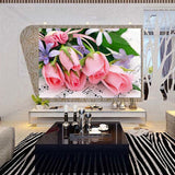 DIY Partial 5D Diamond Embroidery The rose Round Diamond Painting Cross Stitch Kits Diamond Mosaic Home Decoration