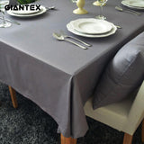 HELLOYOUNG European Style Gray Decorative Table Cloth Cotton Tablecloth Dining Table Cover For Kitchen Home Decor U1192