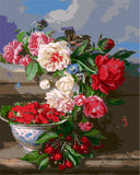 HELLOYOUNG Digital Painting picture drawing Painting Colorful bloom  by numbers oil paintings chinese scroll paintings