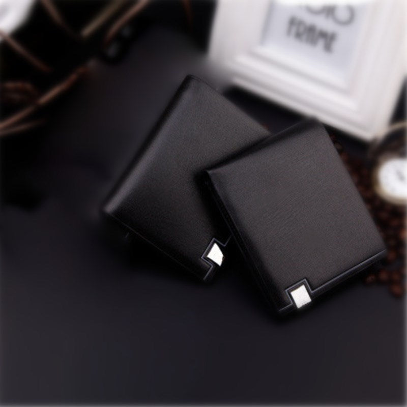 New Long fashion wallet High quality leather PU artificial clutch personality Leisure men's money clamps purse
