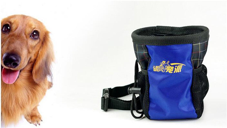 CW020 Portable Detachable Dog Training Bags Doggie Pet Feed Pocket Pouch Puppy Snack Reward Waist Bag 12*18cm Drop Shipping