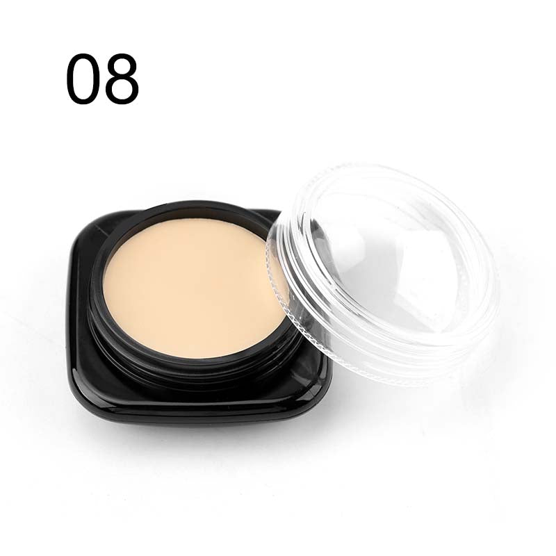 M.n Menow Brand New Concealer 9 Colors Professional Cosmetic Women Contouring Makeup Cosmetic Facial Face Care Cream C16001