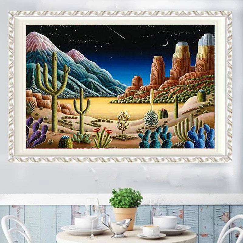 DIY 5D Partial Diamond Embroidery The dream Round Diamond Painting Cross Stitch Kits Diamond Mosaic Home Decor