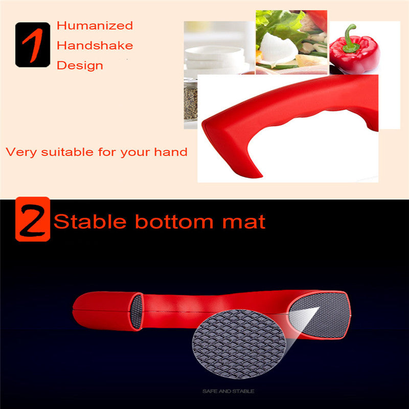 Brand 3 Stages (Diamond & Tungsten steel & Ceramic) Kitchen Knife Sharpener ,Sharpening Stone Household Knife Sharpener