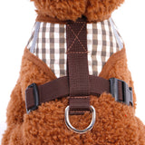 Adjustable Soft Breathable summer pet Dog Harness Vest and leash for small Dog Collar Cat Pet Dogs Leash running Chest Strap