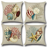 BZ150 Luxury  Cushion Cover Pillow Case Conch pillow Home Textiles supplies decorative throw pillows chair seat