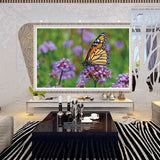 DIY Full 5D Diamond Embroidery The butterfly Round Diamond Painting Cross Stitch Kits Diamond Mosaic home  Decoration
