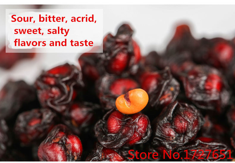 Promotion! Highly Recommended Super 250g Schisandra Berries Top-Grade Herbal Tea Wuweizi Tea