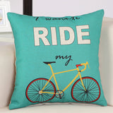 BZ079 Luxury Cushion Cover Pillow Case Home Textiles supplies Lumbar Pillow bicycle decorative throw pillows chair seat