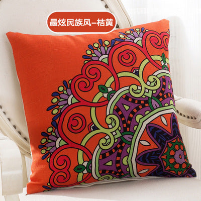 BZ040 Luxury Cushion Cover Pillow Case Home Textiles supplies Lumbar Pillow Famous winds decorative throw pillows chair seat