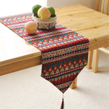 BZ387 Southeast Asian style double table runner desk flag bed table and home textile fabric Original Article
