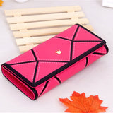 PU Leather Women hasp Long Wallet Ladies Purse Female Wallets Purse Card Holder coin cash bag Portefeuille female