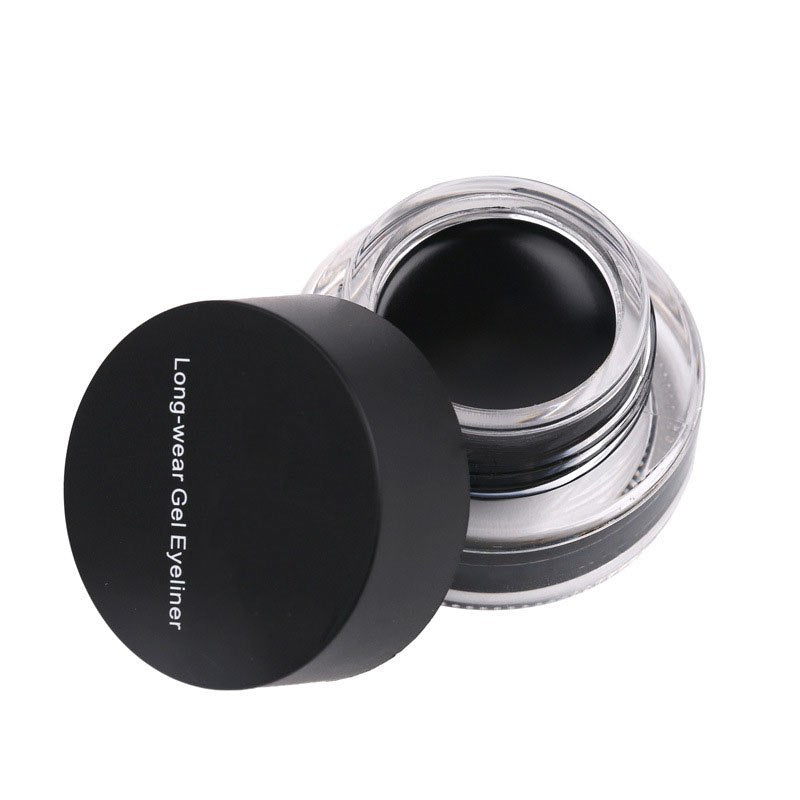 MR0001 Best Seller 2 in 1 Coffee + Black Gel Eyeliner Make Up Waterproof Cosmetics Set Eye Liner Makeup Eye maquiagem delineador