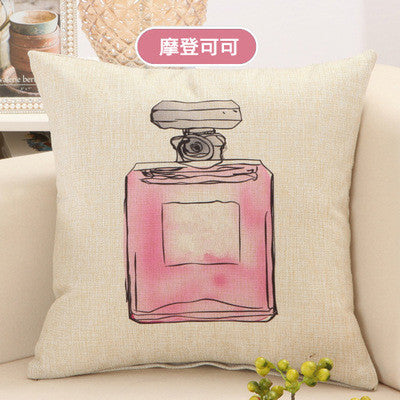 BZ008 Luxury Cushion Cover Pillow Case Lipstick bag picture home sofa decorative pillow car seat