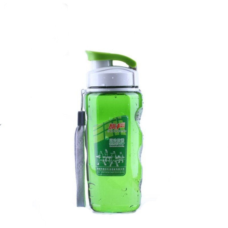 CJ027 Fashion Clamshell Drinkware Space CupPlastic Water Bottles With Cover Lip Filter Sports Bottle Portable Drinking bottle
