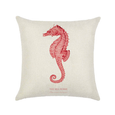 BZ505 Seabed Creature Sea Star Seahorn Sea Seaweed Coral Pillow Cover Pillowcase Sofa/Car Cushion /Pillow  Home Textiles supplie