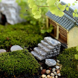 XBJ016 Miniature Decoration 1 pc Cartoon Crafts Garden Bridge Stair Ornament Resin Decor Terrarium Figurines Micro Landscape