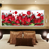 DIY 5D Full Diamond Red rose Diamond Painting Cross Stitch Kits Diamond Home Decoration
