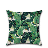 BZ147 Luxury Leaves of rainforest Cushion Cover Pillow Case Home Textiles supplies decorative throw pillows chair seat