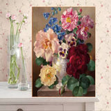 DIY Partial 5D Diamond Embroidery The floral Round Diamond Painting Cross Stitch Kits Diamond Mosaic Home Decoration