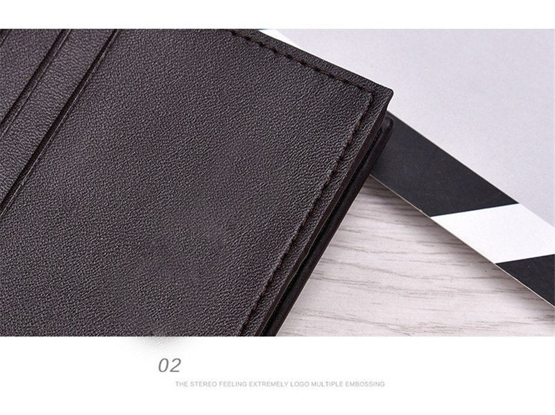 New wallet high-end Sands wallet High quality PU leather clutch genuine Simple fashion elegant Card & ID men's wallet