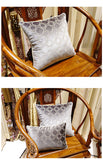 BZ154 Luxury Embroidered velvet cushions Cover Pillow Case Home Textiles supplies Lumbar  Pillow chair seat