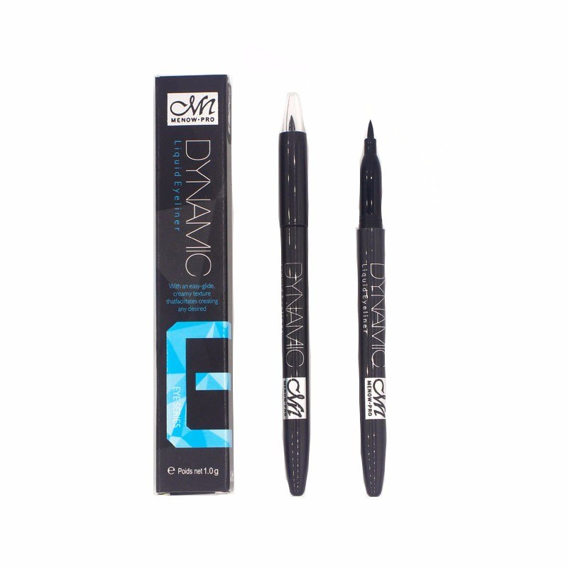 Menow Brand high quality Matte perfect dynamic Waterproof Liquid Black Eyeliner pencil Eye Liner Makeup Cosmetics E13007