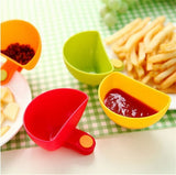 CJ135 Dip Bowl for Assorted Salad Sauce Ketchup Jam Flavor Sugar Spices Dip Clip Cup Bowl Saucer Kitchen Accessories gadgets