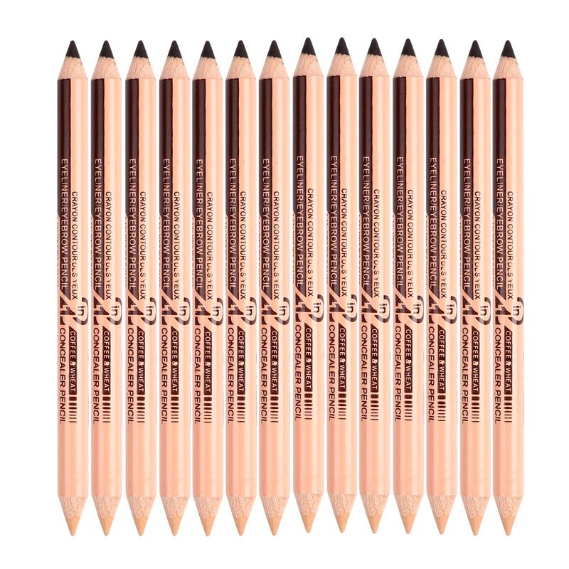 MENOW Brand 1pcs Eyebrow & concealer pencil Long-lasting waterproof Easy to Wear Natural Make up pencil dropship Beauty 5314