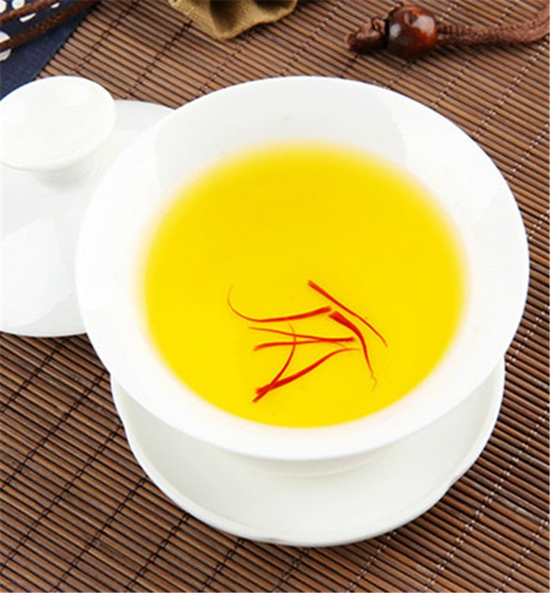 100% Guaranteed Authentic Iran Saffron Crocus Stigma Croci 1g Great Flower tea