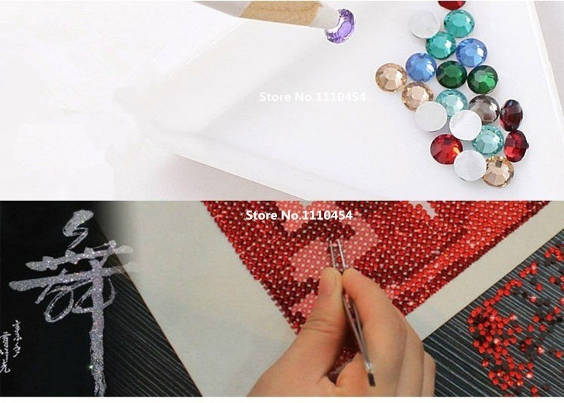DIY 5D Diamond Embroidery The cartoon of pet Round Diamond Painting Cross Stitch Kits Diamond Mosaic Home Decor