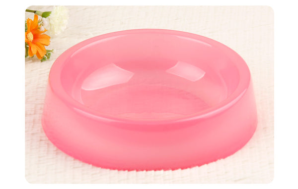 Dog Cat Food Drink Water Bowl Standard Pet food bowl Portable PlasticTravel Feeding Durable Water Dish Feeder Pet Dog Bowl