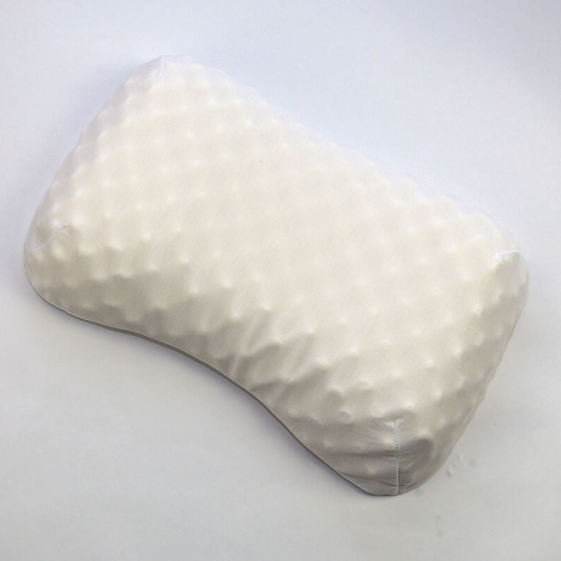 57x37cm Natural Latex Pillow Sleeping Bedding Cervical Massage Pillow Health Neck Bonded Head Care Memory Pillow U1175