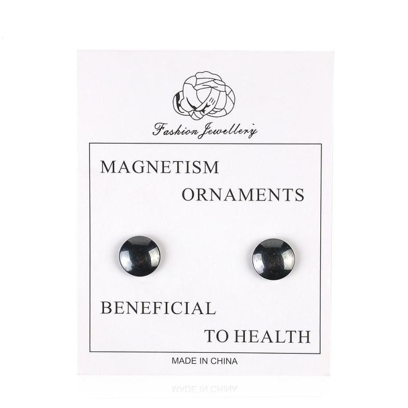 1pair Magnetic Slimming Earrings Slimming Patch Lose Weight Magnetic Health Jewelry Magnet Of Lazy Paste Slim Patch Accessory